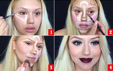tutorial makeup contouring 70s makeup tutorial for clown contouring now unveiled