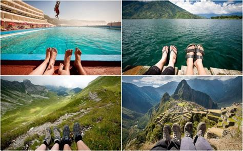 travel photography ideas feet first creative travel photos by british couple amusing planet
