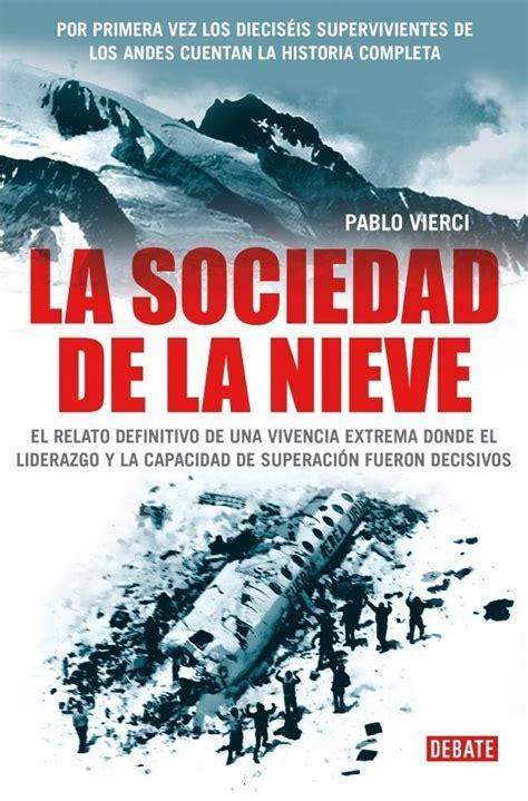libro andes comprar libro la sociedad de la nieve