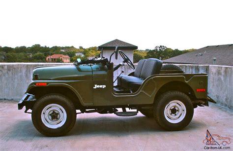 1973 Cj5 Jeep 1973 Jeep Cj5 Base Sport Utility 2 Door 5 0l