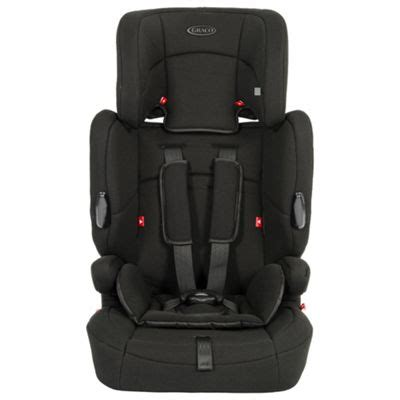 car seat holder tesco buy graco endure high back booster car seat with harness