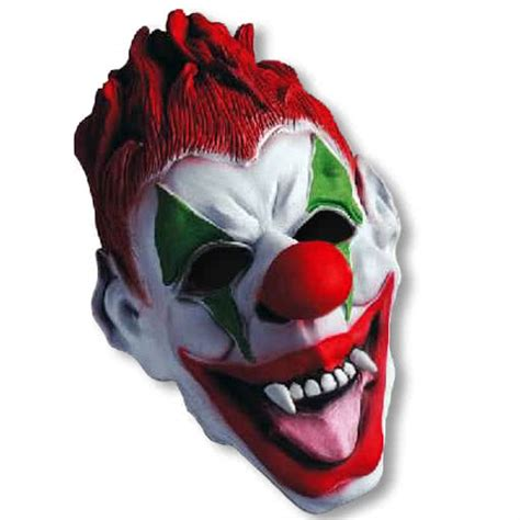 How To Make A Clown Mask Out Of Paper - clown mask horror shop