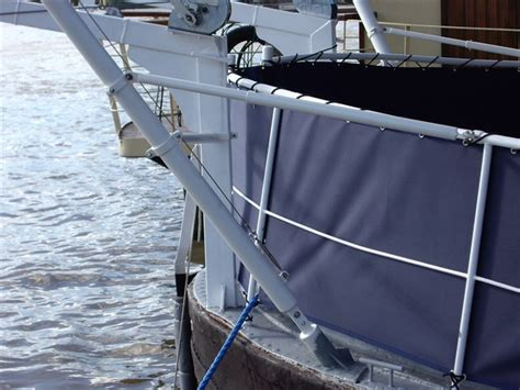 Sailboat Awning Sunshade by Boat Terrace Sunshade House Boat Canopy