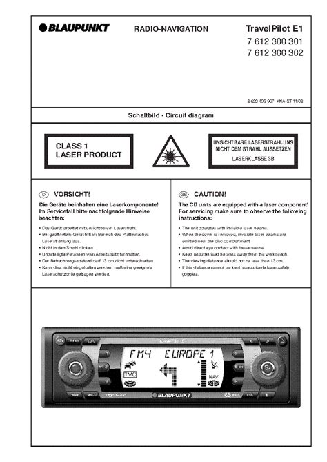 BLAUPUNKT 6,5 INCH CLX01 LCD MONITOR Service Manual