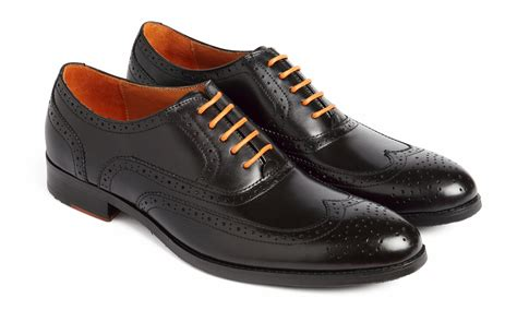 brogues boots black brogue shoe simon