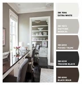 grey office paint palette taupe paint colors and grey on pinterest