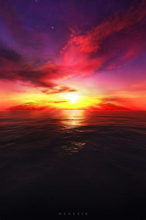 wallpaper for iphone sunset 640x960 3d sunset iphone 4 wallpaper