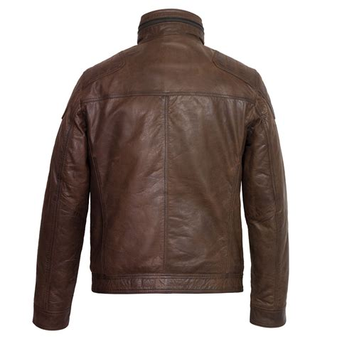 brown leather jacket mac s brown leather jacket hidepark leather