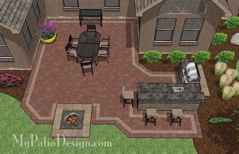 backyard plans designs 6 patio designs for courtyards or u shaped homes
