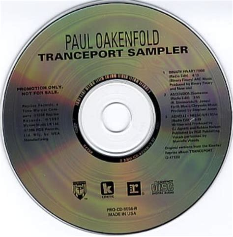 paul oakenfold tranceport album paul o records lps vinyl and cds musicstack