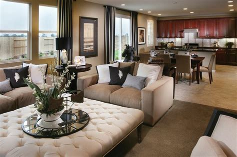 kb home design ideas black brown cream gray living room doti staging