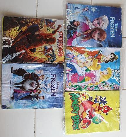 Tas Souvenir Ultah Anak Goodie Bag Frozen 1 jual tas souvenir ultah anak goodie bag kertas karakter frozen dll murah grosir plastik
