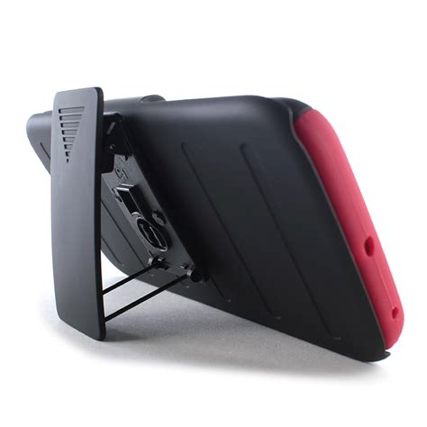 Casing Cover Samsung S6 Edge Stand Holster Belt Clip Armor Future for samsung galaxy s6 edge holster hybrid stand phone cover belt clip ebay