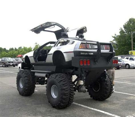 videos de monster truck 4x4 delorean 4x4