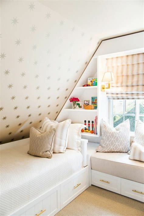 Playroom Storage Ideas by Kinderzimmer Mit Dachschr 228 Ge 29 Tolle Inspirationen F 252 R Sie