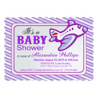 baby shower invites canada airplane baby shower invitations announcements zazzle