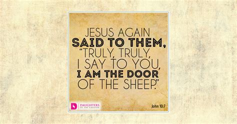 I Am The Door Of The Sheep by Badge Access Daughters Of The Creator