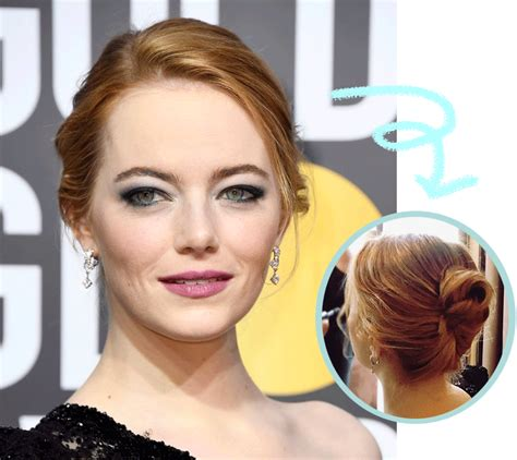 hair dos at the golden globes red carpet hairstyle 2018 hairstyles