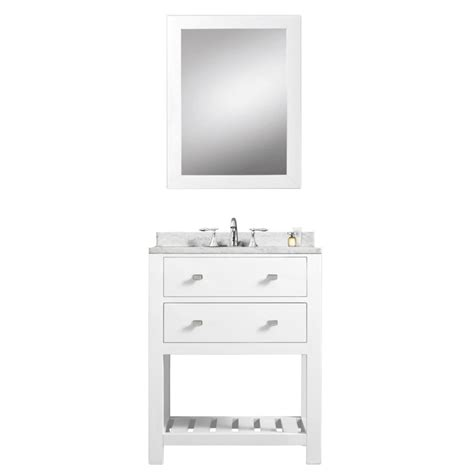 white bathroom vanity 24 madalyn 24 inch white single sink bathroom vanity