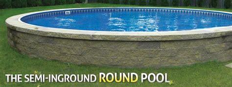 id   eventually    semi inground pool