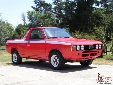 1978 subaru brat for sale restored 1978 subaru brat dl standard cab 2 door 1 6l