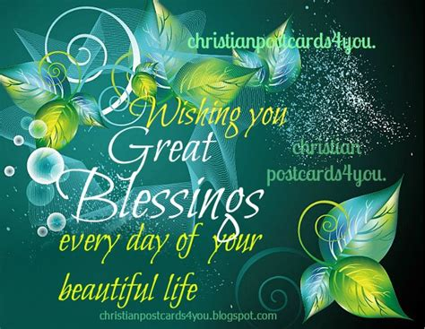 free christian cards christian card wishing you great blessings christian