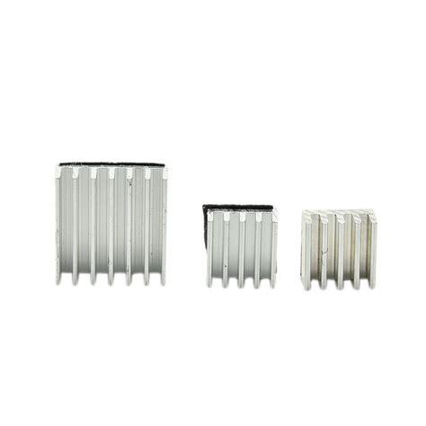 Sale Heatsink Heat Sink Raspberry 3pcs raspberry pi 2 aluminium heatsink kit self adhesive