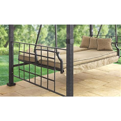 gazebo swing sydney gazebo swing 138442 patio furniture at sportsman
