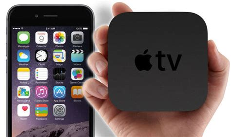 iphone to tv apple tv touchscreen remote and app store to launch with iphone 6s tech style