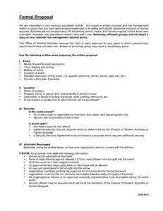 8 formal proposal template timeline template