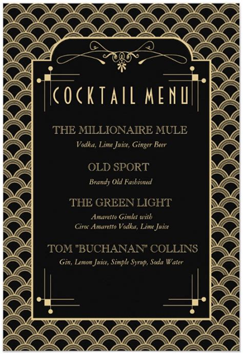 the major theme of the great gatsby deals with great gatsby cocktail the millionaire mule a skinny