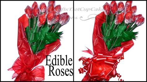How To Make A Bouquet Of Roses With Paper - diy how to make edible hershey kisses bouquet