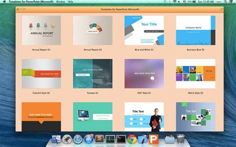 Powerpoint Template Mac the best powerpoint templates for mac