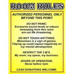 Keep Out Signs For Bedroom Doors p2229 room rules funny door wall poster print amazon co