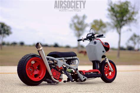 honda ruckus custom bagged honda ruckus kick scooter