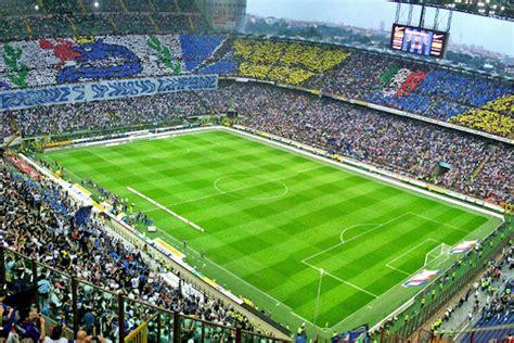 stadio meazza posti a sedere qual 232 lo stadio pi 249 grande d italia