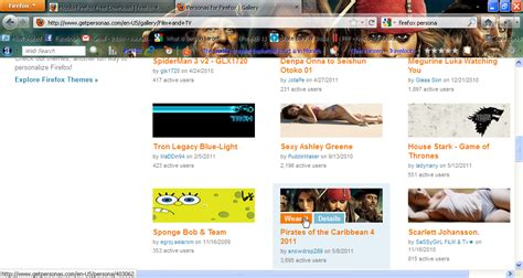 firefox visual themes mozilla firefox themes download filenest
