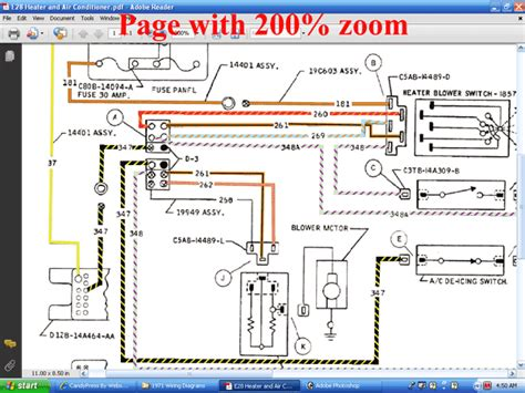 manual repair free 1972 ford thunderbird security system forel publishing llc 1971 colorized mustang wiring vacuum diagrams cd