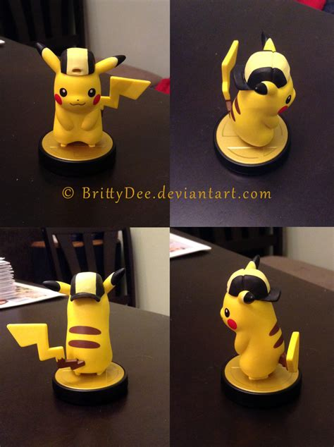 Murah Acc Amiibo Pikachu Smash Bros Series pikachu amiibo smash bros gold hat custom by brittydee on deviantart