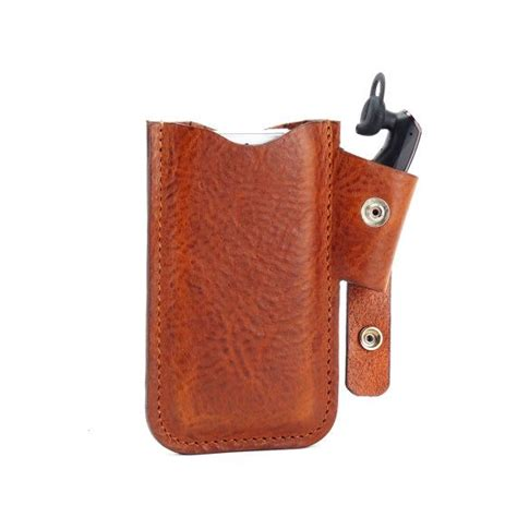 iphone 5 jawbone combo leather holster w belt clip by