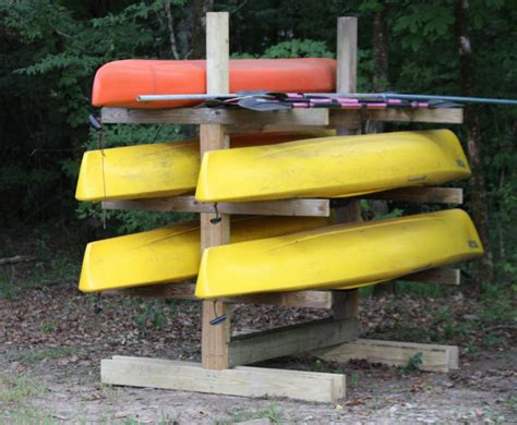 Canoe Kayak Rack Plans tangents from tazmania new and improved smt post