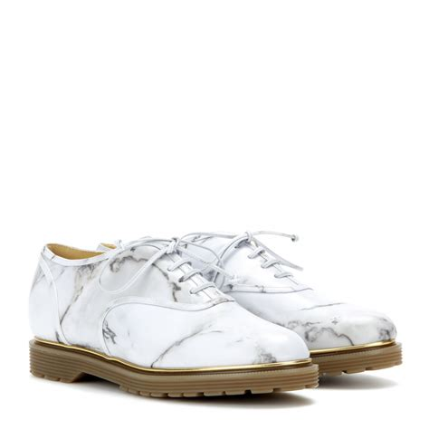 printed oxford shoes olympia stefania printed leather oxford shoes in