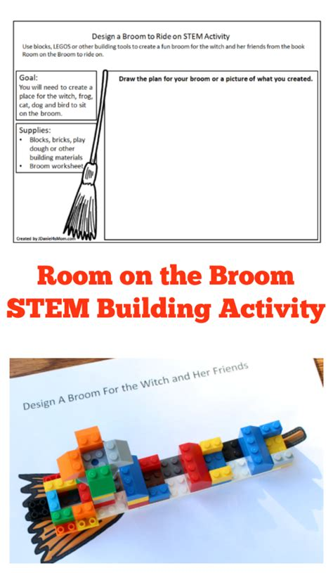 stem engineering houses for the three pigs with lego room on the broom stem building activity