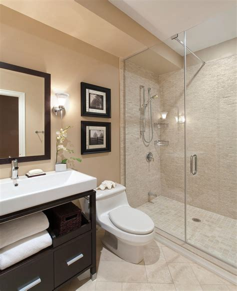 Renovation Ideas For Small Bathrooms Glass Shower Door Small Bathroom Remodel Ideas