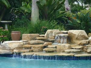pool fountains and waterfalls pool waterfall delray beach florida by matthew giietro traditional pool other metro