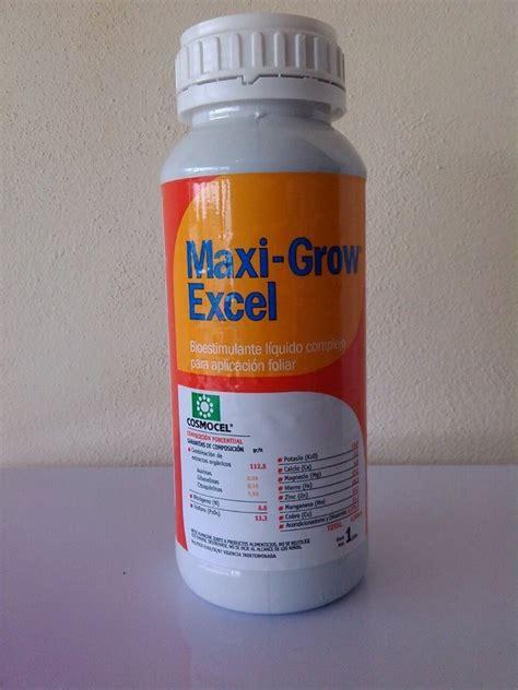 Maxi Excel maxigrow excel 1lt aumenta crecimiento en plantas 319