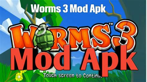 world series of mod apk descargar worms 3 mod apk v2 04 hack free android no root para celular android