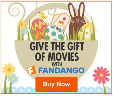 Check Fandango Gift Card - fandango send a gift card for easter check out the full summer 2015 schedule