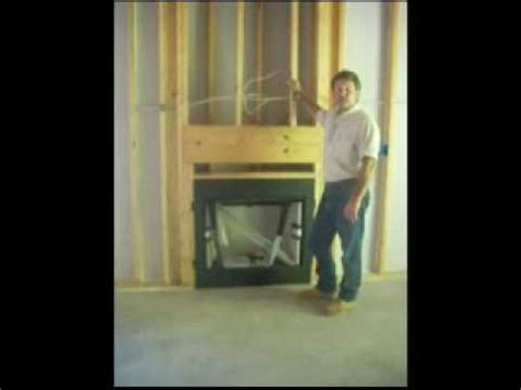 gas fireplace in