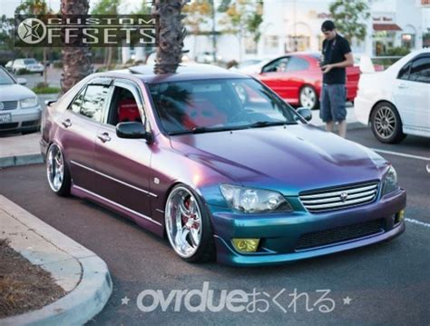 bagged is300 wheel offset 2001 lexus is300 tucked bagged